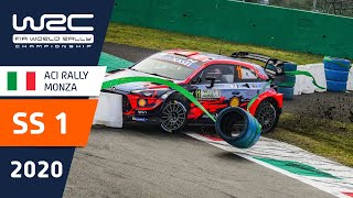 WRC - ACI Rally Monza 2020: Highlights Stage 1