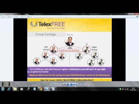 Telexfree Hindi Presentation-YOGESH SONI ( 09826038018-09179491328 ) EARN Weekly