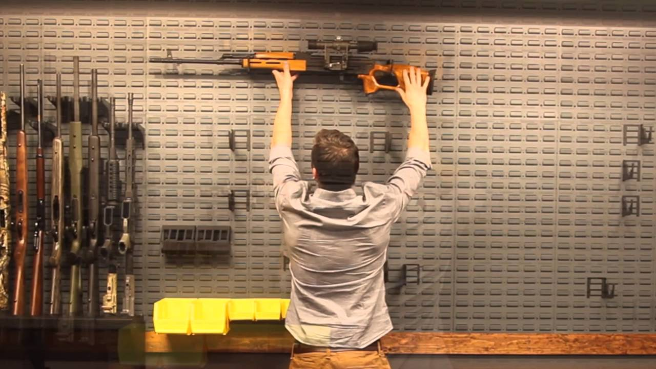 Build Your Own Custom Gun Room Gun Storage Solutions