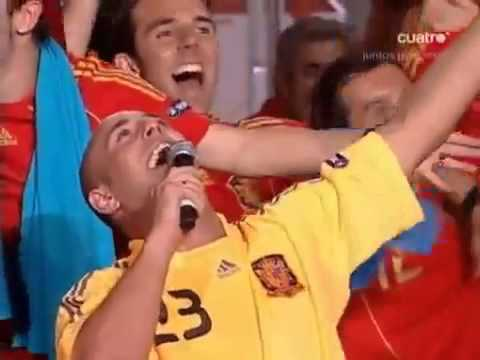 Camarero Pepe reina Eurocopa 2008