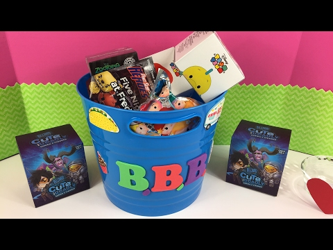 Blind Bag Bucket Live! Opening 25 Surprises!