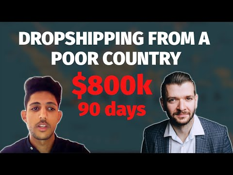 (Case Study) How He Made $800k In 3 Months | Shopify Dropshipping thumbnail