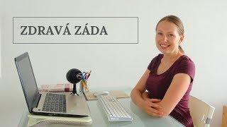 Můj první online kurz Zdravá záda a sezení