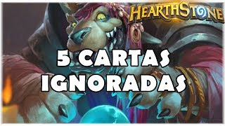 HEARTHSTONE - 5 CARTAS IGNORADAS! (BOSQUE DAS BRUXAS)