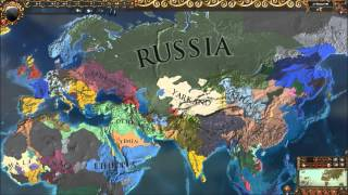 A Timelapse in Europa Universalis IV: The Cossacks
