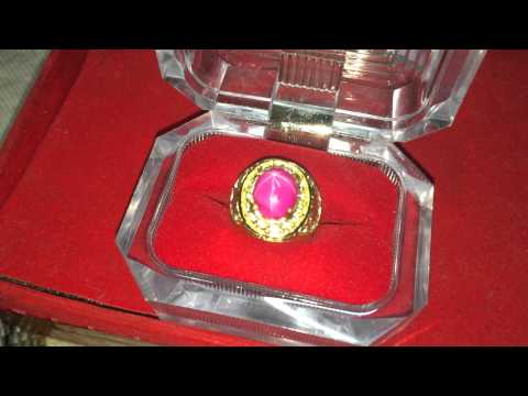 Batu Cincin Ruby American Star