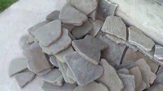 видео Подпорная стенка из камня: способы укладки