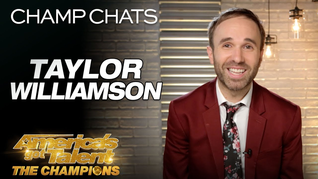 Comedian Taylor Williamson Speaks On Being Awkward - America's Got Talent: The Champions