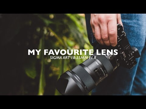 My FAVOURITE LENS - Sigma Art 18-35mm f18 Cinematic Review