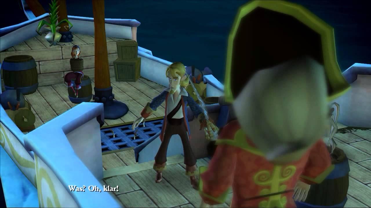 Tales Of Monkey Island Deutsch