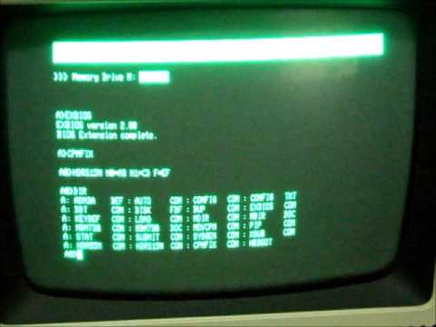 FreHD Running CP/M On TRS-80 Model 4P