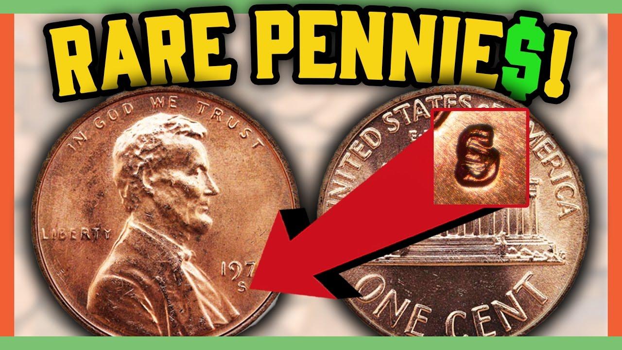 RARE ERROR PENNIES WORTH MONEY - VALUABLE COINS IN CIRCULATION!!
