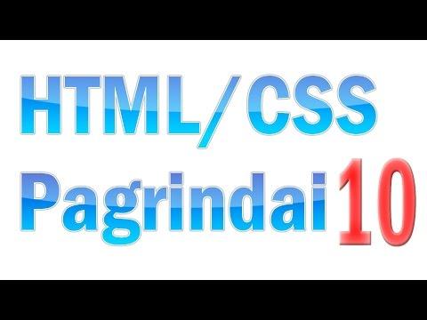 HTML/CSS Pagrindai #10 - CSS Rašymo Būdai
