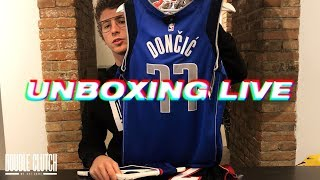 UNBOXING LIVE - NBA Jerseys, Felpe K1X