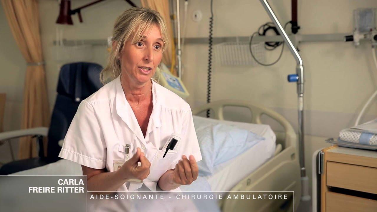 aide-soignante en chirurgie ambulatoire