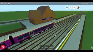Roblox New Mind The Gap First Day Ride on the Class 387 GREAT REGIONAL LINES Woodthrope to Denham