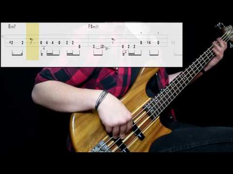Bruno Mars - 24K Magic (Bass Cover) (Play Along Tabs In Video)