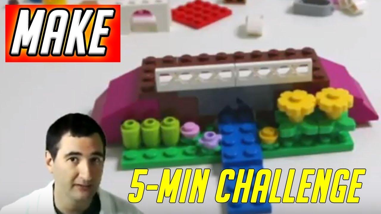 LEGO 5 Minute Challenge #10 - Bridge - Classic Creative Bricks 10692 Daily  Vlog