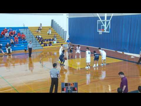 2016 Punahou Boys Basketball Invitational - Hamamatsu Tech vs Kamehameha KPL II (December 28, 2016)