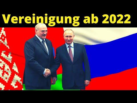 Vereinigung Belarus und Russland ab 2022 - erstmal Wirtschaft