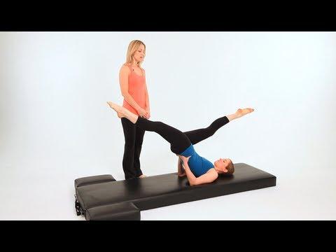 How to Do High Scissors | Pilates Workout