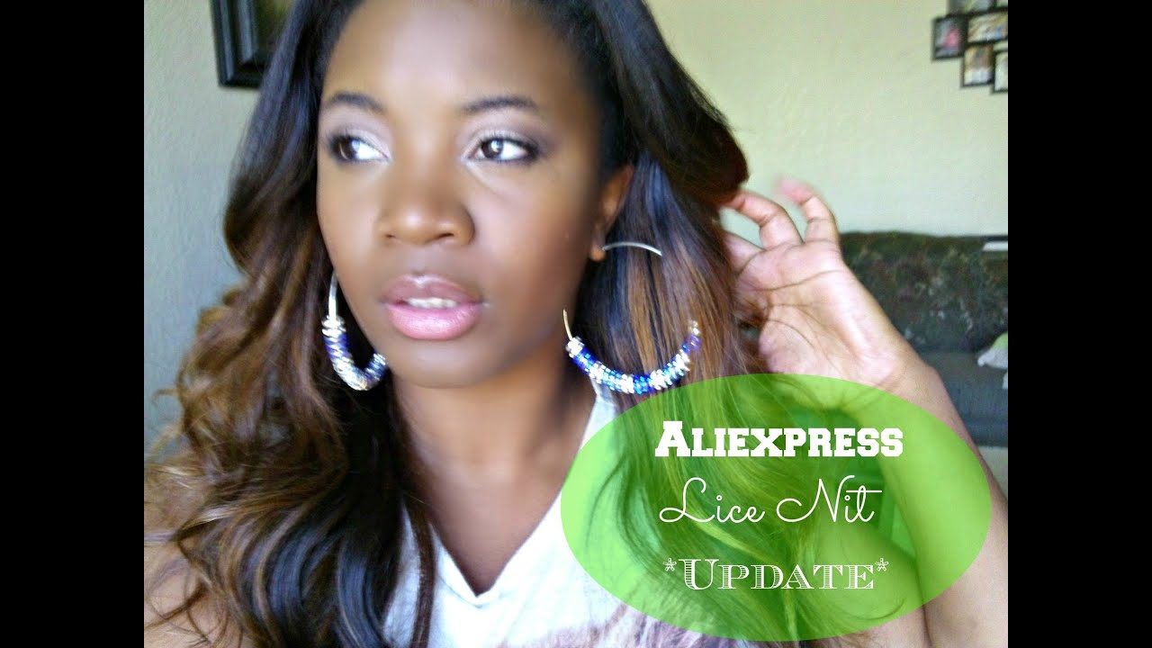 How I Removed Lice Nits From My Aliexpress Hair Youtube