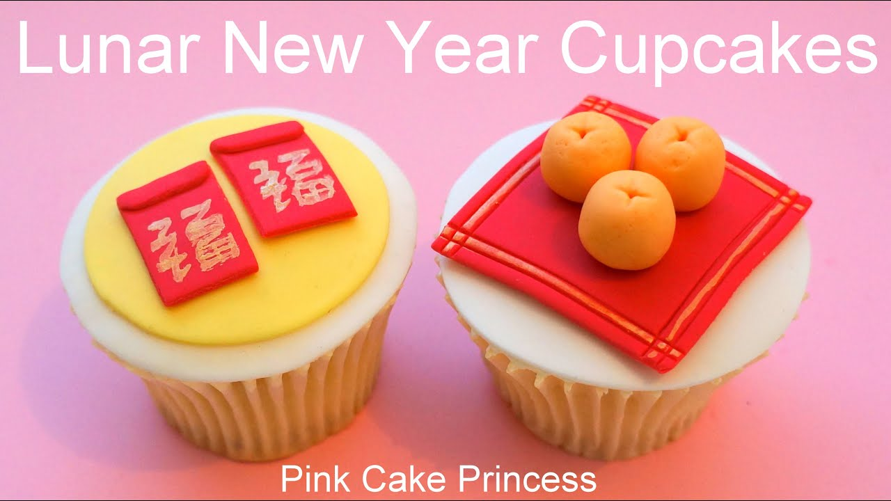 Chinese New Year Cupcakes   Miniature Red Envelopes   Oranges How to     Chinese New Year Cupcakes   Miniature Red Envelopes   Oranges How to by  Pink Cake Princess   YouTube