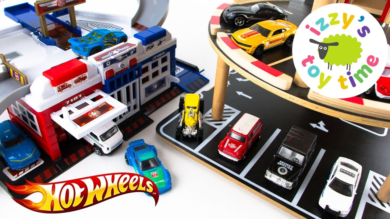 Cars for kids hot wheels and fast lane parking garage for Garage fast auto sarcelles