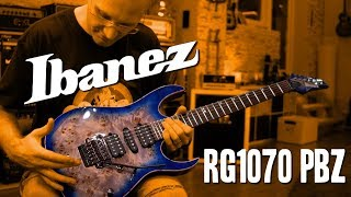 Ibanez RG1070 PBZ - First Week Impressions (with a bunch of amps)