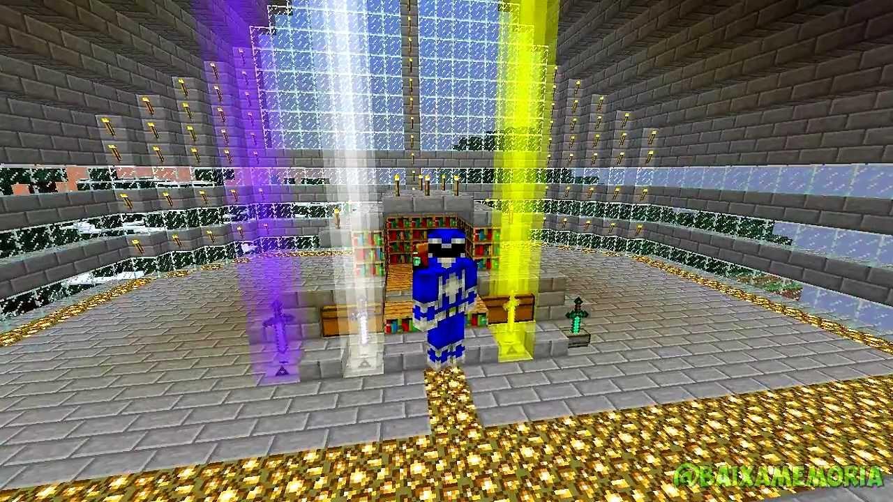 Minecraft Mods Sword Pedestal Power Ranger Xd Youtube