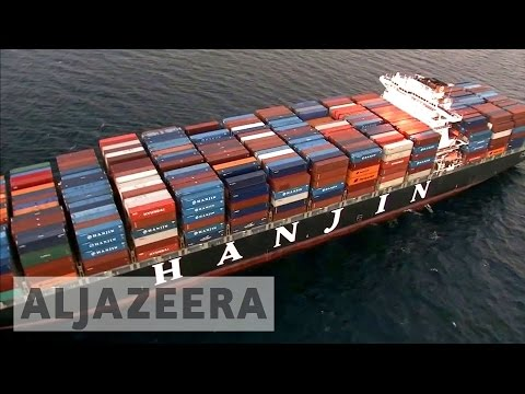 Hanjin shipping company goes under