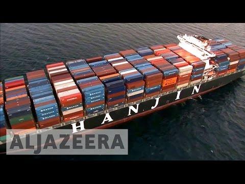 Hanjin Shipping Company Goes Under