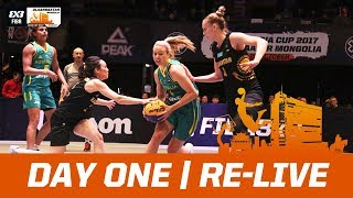 FIBA 3x3 Asia Cup 2017 - Day One - Re-Live - Ulaanbaatar, Mongolia