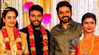 VIDEO: Aishwarya Rajesh at Actress Suja Varunee - Actor Shivakumar Wedding Reception Video