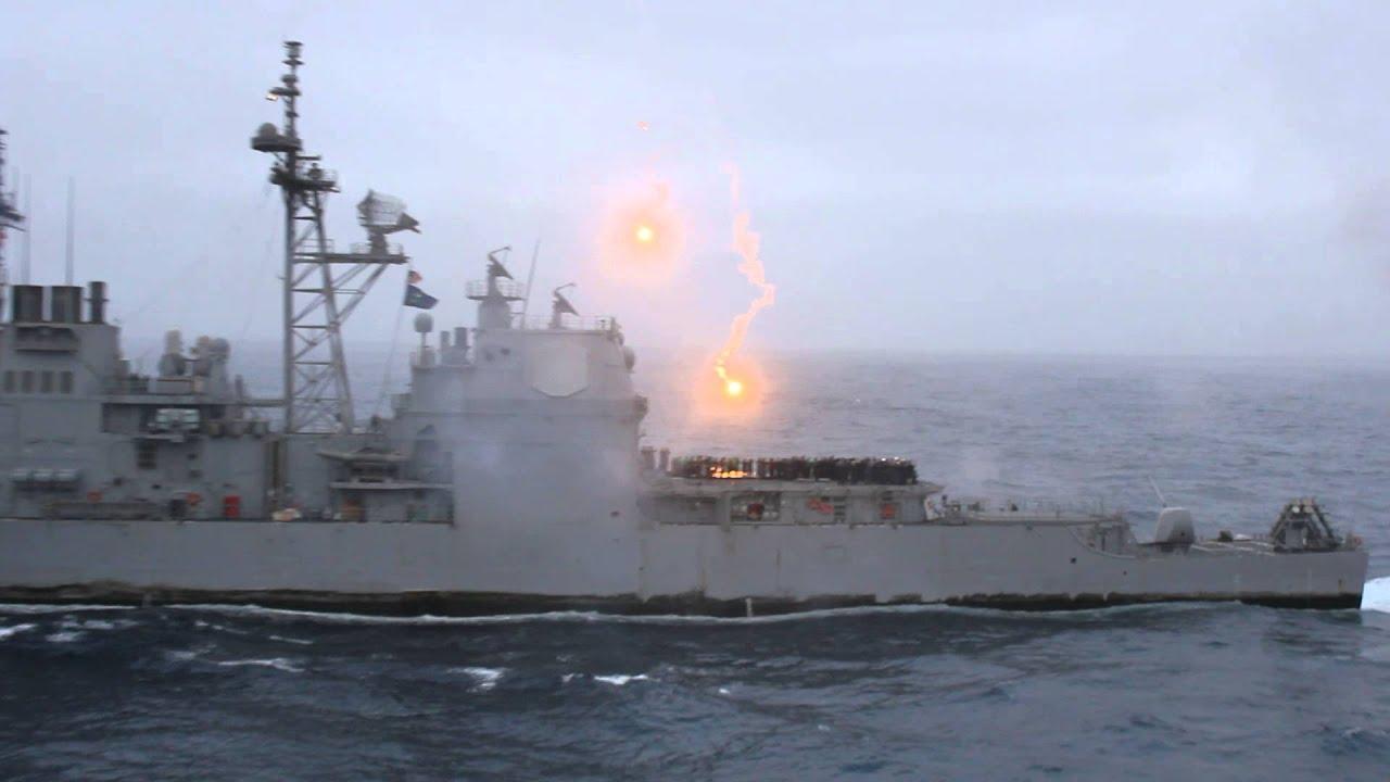 cool navy sh t a big boat shooting guns youtube