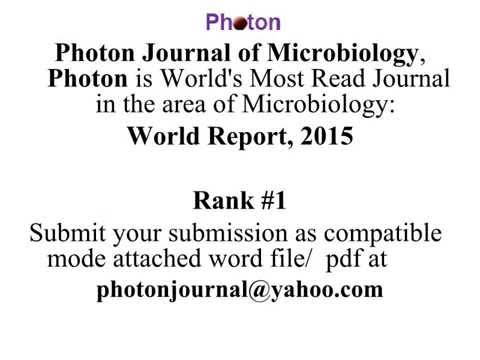 Tunisia Journal of Microbiology