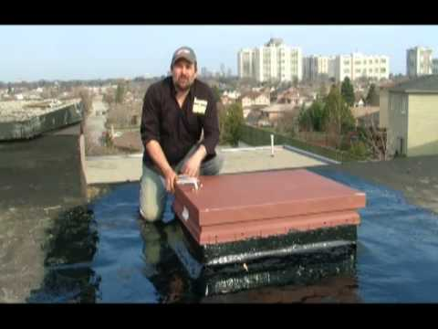 Flat Roof Roof Access Hatch Toughroof Youtube