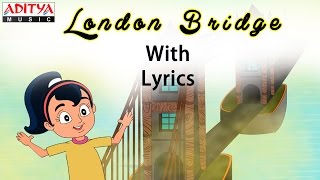 London Bridge with Lyrics    Popular English Nursery Rhymes for Kids