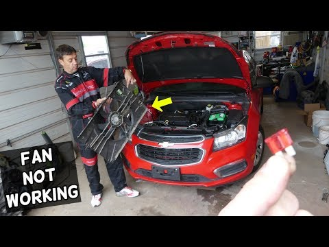 Why Radiator Fan Does Not Work On Chevrolet Cruze Sonic Cooling