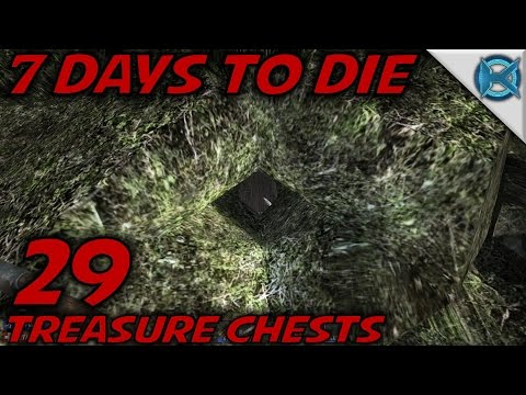 "7 Days to Die -Ep. 29- ""Treasure Chests"" -Let's Play 7 Days to Die Gameplay- Alpha 14 (S14.5)"
