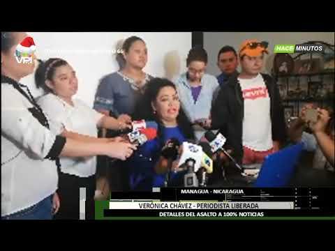Nicaragua - Periodista Nicaragüense Ofrece Detalles Del Asalto A 100 % Noticias - VPItv