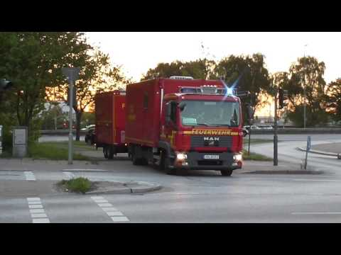 WLF F12 Altona mit AB-Atemschutz+ GW FM mit Fwa FF Hamburg Altona