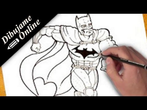 Como Desenhar O Batman Como Desenhar O Batman Passo A Passo