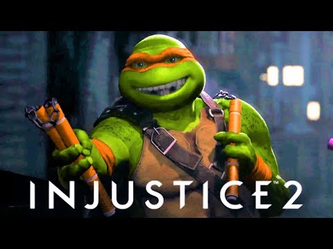 Thumbnail: INJUSTICE 2 - Fighter Pack 3 TRAILER!!! New Cinematic trailer TMNT