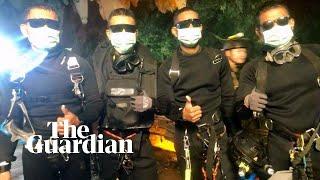 Last divers leave Thai cave as rescue mission ends