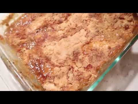 Peach Cobbler - Quick N Easy!