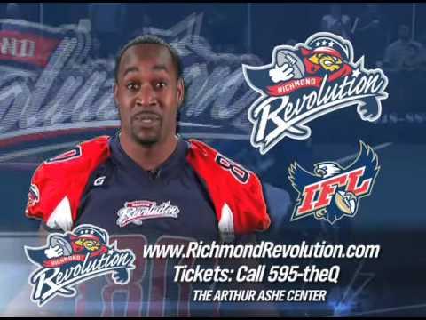 Richmond Revolution Indoor Football 30 second spot SD