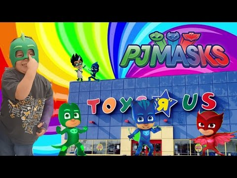 Pj Mask Toys Found At Toys R Us