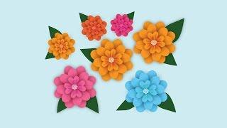 Illustrator Flower | making in adobe illustrator CC tutorial