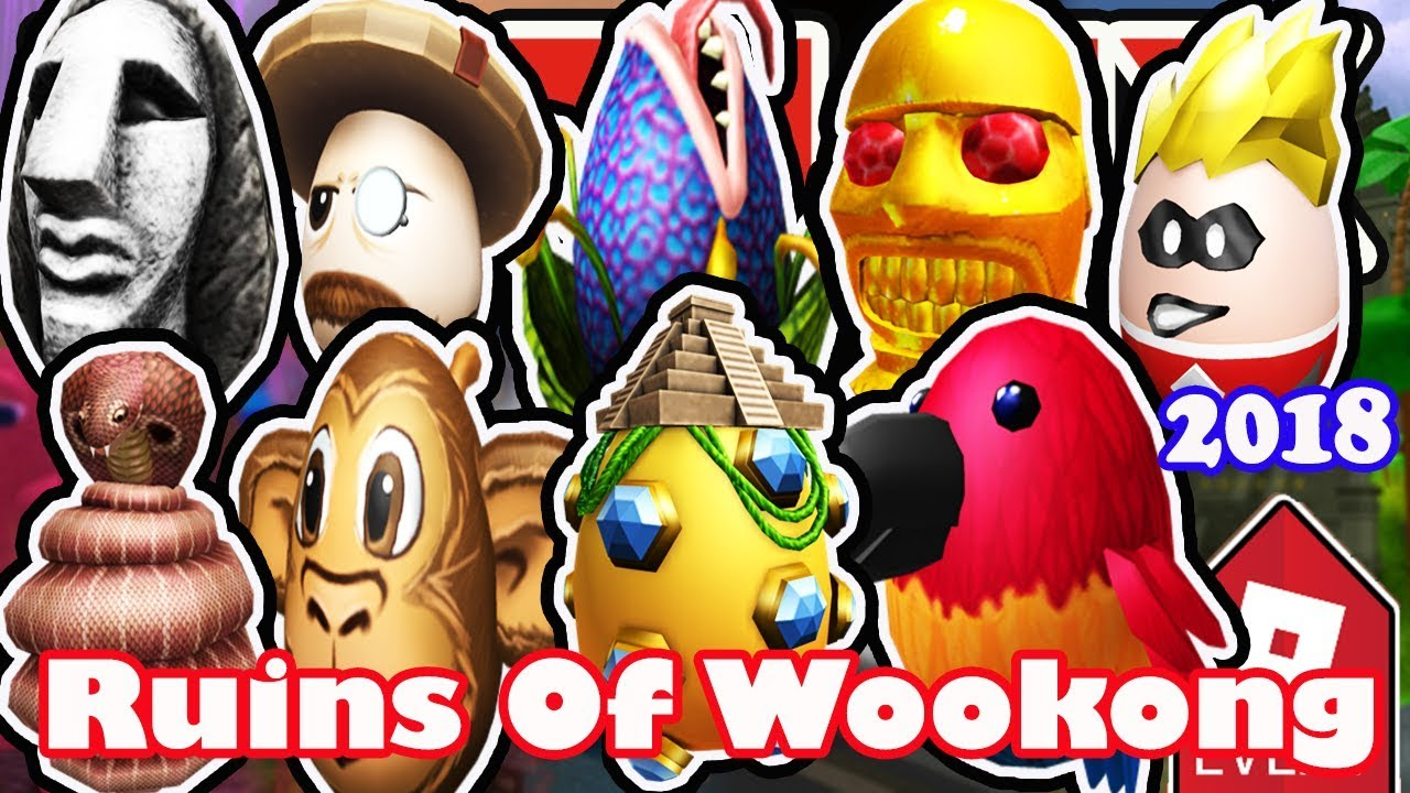 Event How To Get All Eggs In Ruins Of Wookong Roblox Egg Hunt 2018 Full Walkthrough - how to get all eggs in roblox egg hunt 2018 the great yolktales